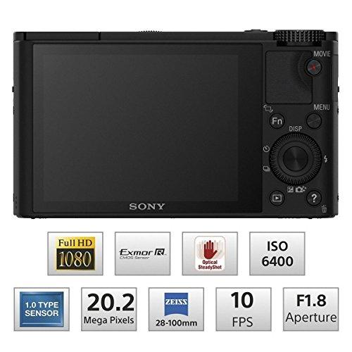 ソニー SONY デジタルカメラ DSC-RX100 1.0型センサー F1.8レンズ搭載 ブラック Cyber-shot DSC-RX100