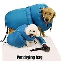 自動ペット毛乾燥袋ポータブル折りたたみ子犬ドライヤーケージ旅行バッグ用猫犬