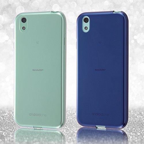 レイ・アウト Y!mobile Android One X1 ケース TPUソフト 極薄/クリア RT-ANO3TC7/CM