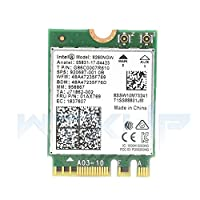 Intel Dual Band Wireless-AC 9260 NGFF 2.4/5GHz 1730Mbps WiFi + Bluetooth 5.0 802.11ac Card for Linux, Google Chrome OS, Windows 10 for Games, Sports, Office, Home