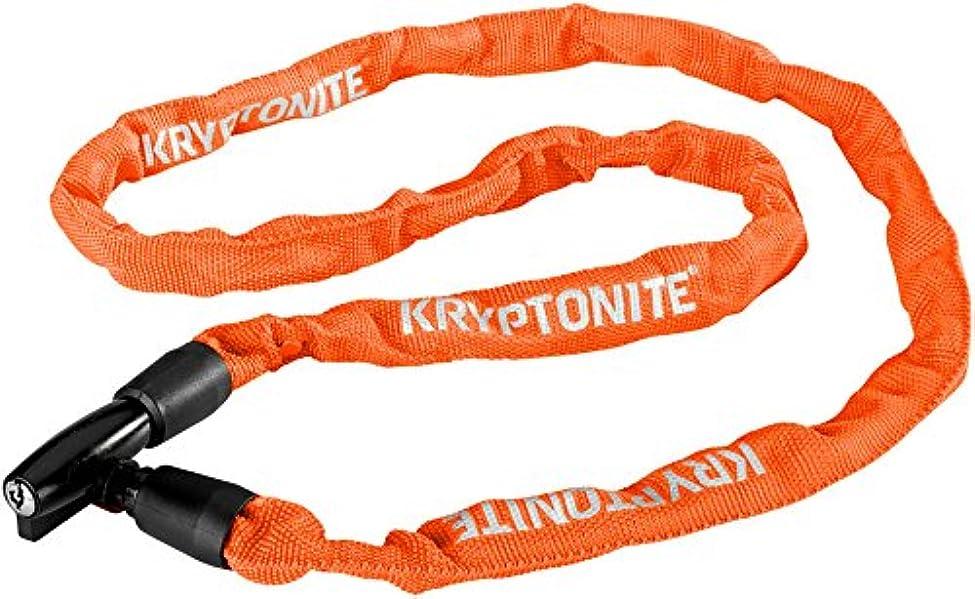 太字ファウルすべきKryptonite( クリプトナイト ) キーパー 411 キー チェーン Keeper 411 Key Chain ロック LKW28902 オレンジ