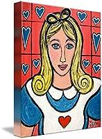 """「アリスウォールアートプリントby Heidi Zeile 36"""" x 45"""" 2961540_5_can"""