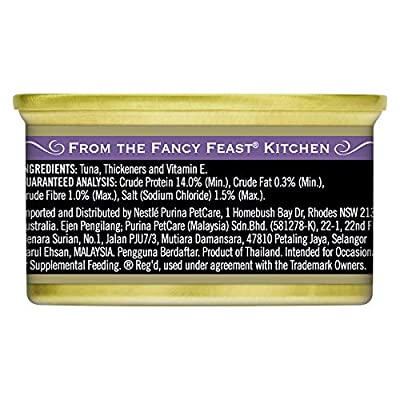 Fancy Feast Royale Virgin Tuna, 24X85g