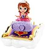 Disney Sofia the First 3-Inch Doll and Magic Carpet by Mattel [並行輸入品]