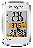ブライトン Rider One E (ケイデンスセンサー無し) GPS ホワイト(TB0F0R01EWHT)