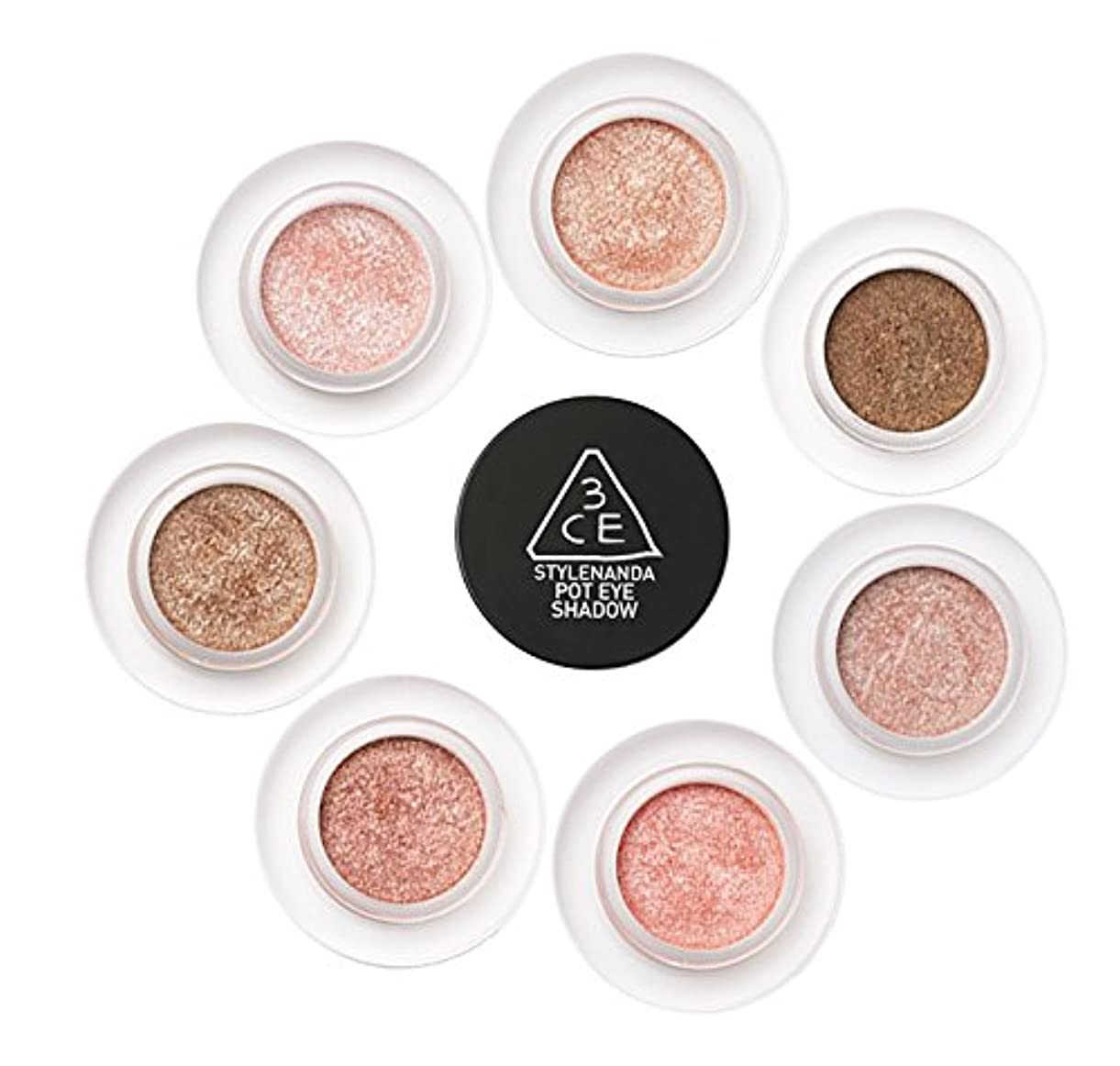 3CE [韓国コスメ 3CE]ポットアイシャドウ 3CE POT EYE SHADOW (#CORAL TIME)