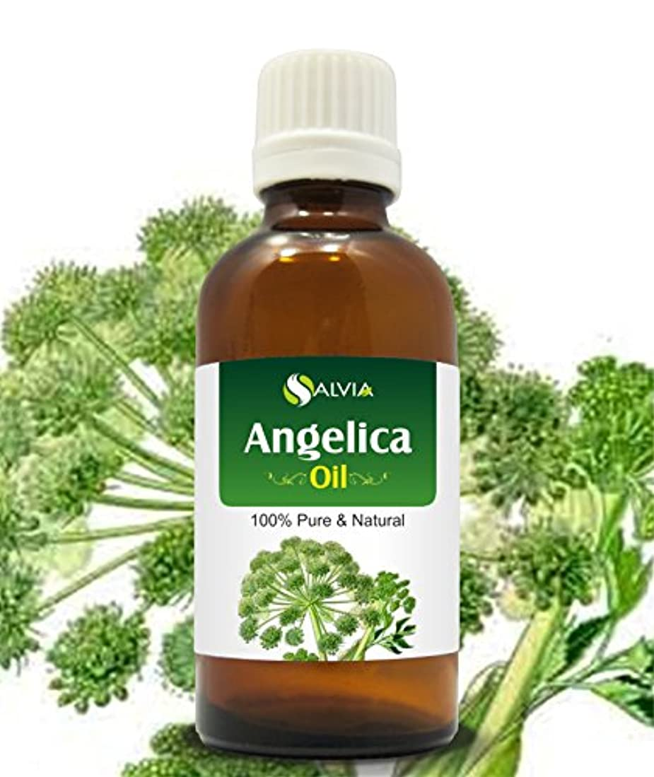 ウィザードケージ降ろすANGELICA OIL 100% NATURAL PURE UNDILUTED UNCUT ESSENTIAL OIL 50ML