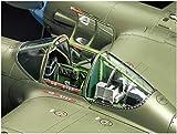 タミヤ 1/48 傑作機シリーズ No.120 ロッキード P-38F/G ライトニング プラモデル 61120 画像