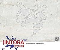 JINTORA ステッカー/カーステッカー - Bumble Bee - バンブルビー - 88x88mm - JDM/Die cut - 車/ウィンドウ/ラップトップ/ウィンドウ- お金