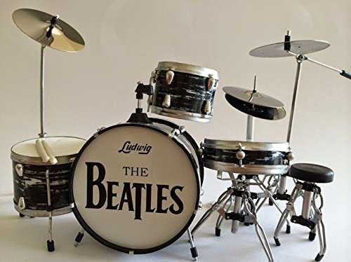 【Miniature Drum】ミニチュアドラム【Miniature Drum Set RINGO STARR - THE BEATLES】
