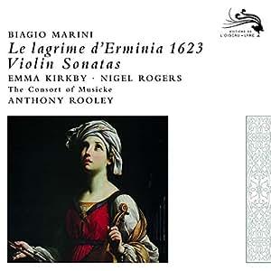 Lagrime D'Erminia 1623 Violin Sonatas