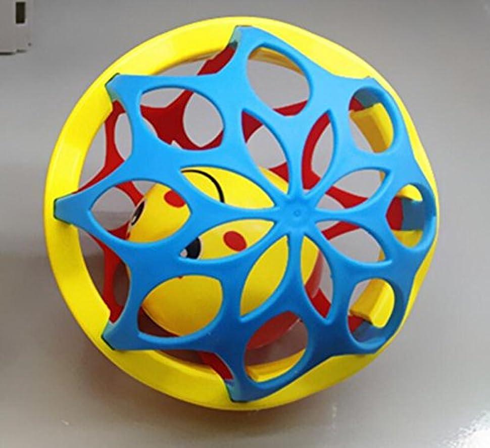 取るに足らない慣らす知っているに立ち寄るYiping 子供用 知育玩具 赤ちゃん 可愛い プラスチック 手ガラ ベル キッズ 赤ちゃん ファニー クローリング おもちゃ ボール ギフト