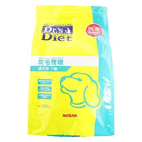 ドクターズダイエット 犬用 皮毛管理 3.8kg...