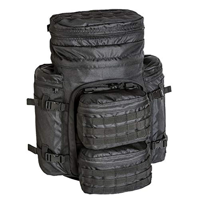 マグ慎重に積極的にAkmax.cn ミリタリーMOLLEバックパック、タクティカルバックパック、パトロールパック、アサルトパック バグアウトバッグ キャンプ、旅行、トレッキング、ハイキング用 防水性 15.6インチ。