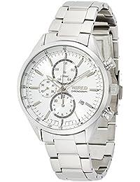 [ワイアード]WIRED 腕時計 スタンダードクロノ クオーツ カーブハードレックス 日常生活用強化防水 AGAV108 メンズ