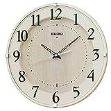 セイコー クロック 掛け時計 電波 アナログ アイボリー KX397A SEIKO
