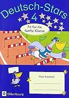 Deutsch-Stars 4. Schuljahr - Fit fuer die 5. Klasse: Uebungsheft. Mit Loesungen