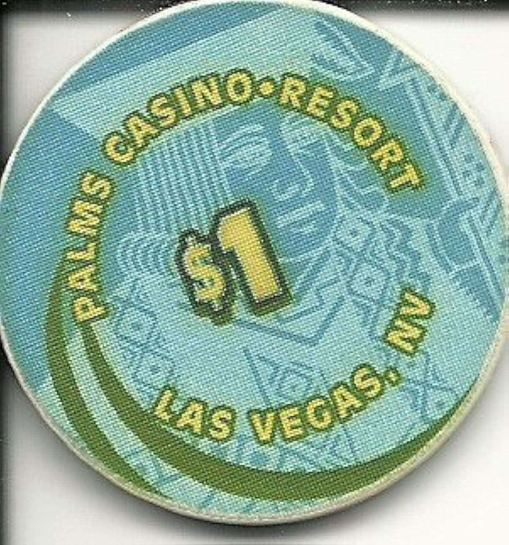 $ 1 Palms Straight Onビュークラブのキングラスベガスカジノチップ