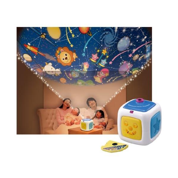 天井いっぱい!! おやすみホームシアターの紹介画像3