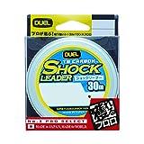 デュエル(DUEL) ショックリーダー(フロロカーボン): TB CARBON ショックリーダー 30m 10Lbs. : ナチュラルクリアー
