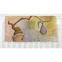 KESS InHouse Matthew Reid Purple Fruit Fleece Baby Blanket 40 x 30 [並行輸入品]
