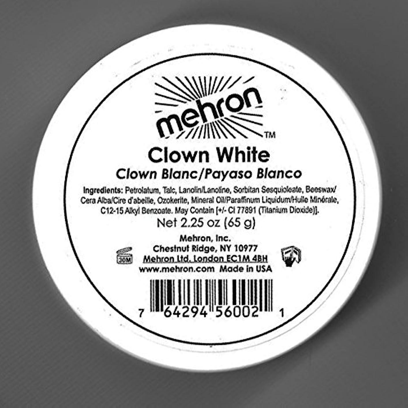 悪化する制約悔い改めるmehron Clown White - Clown White (並行輸入品)