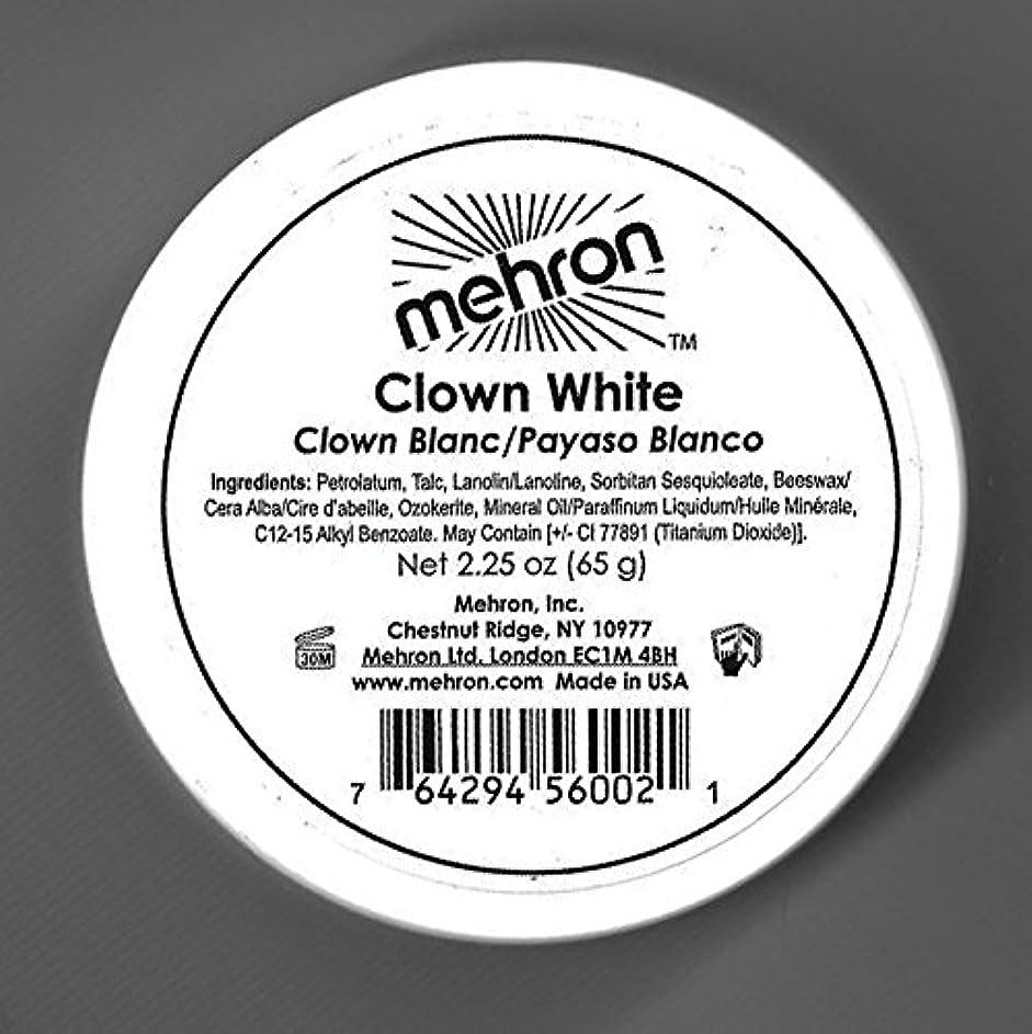 意外無実確立mehron Clown White - Clown White (並行輸入品)