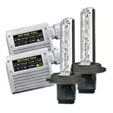 【MAX-スーパー ビジョン HID Evo.VII 】AUDI A8/S8 4D '95-'02 ヘッド ライト H7 Lo-ビーム用 12V 35W 10000k バルブ切警告灯対策専用セット