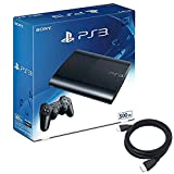 PlayStation3 チャコール・ブラック 500GB (CECH4300C) 【Amazon.co.jp限定】特典アンサー PS3用 HDMIケーブル2.0M付