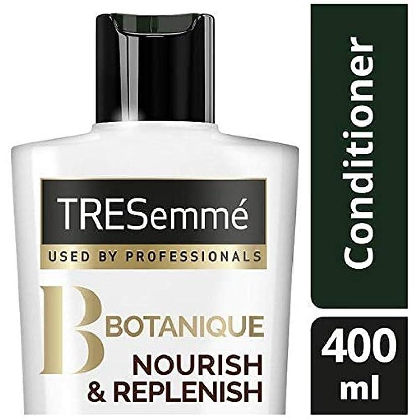 トイレ軽減する泥沼[Tresemme] Tresemmeのボタニックを養う&コンディショナー400ミリリットルを補充します - TRESemme Botanique Nourish & Replenish Conditioner 400ml...