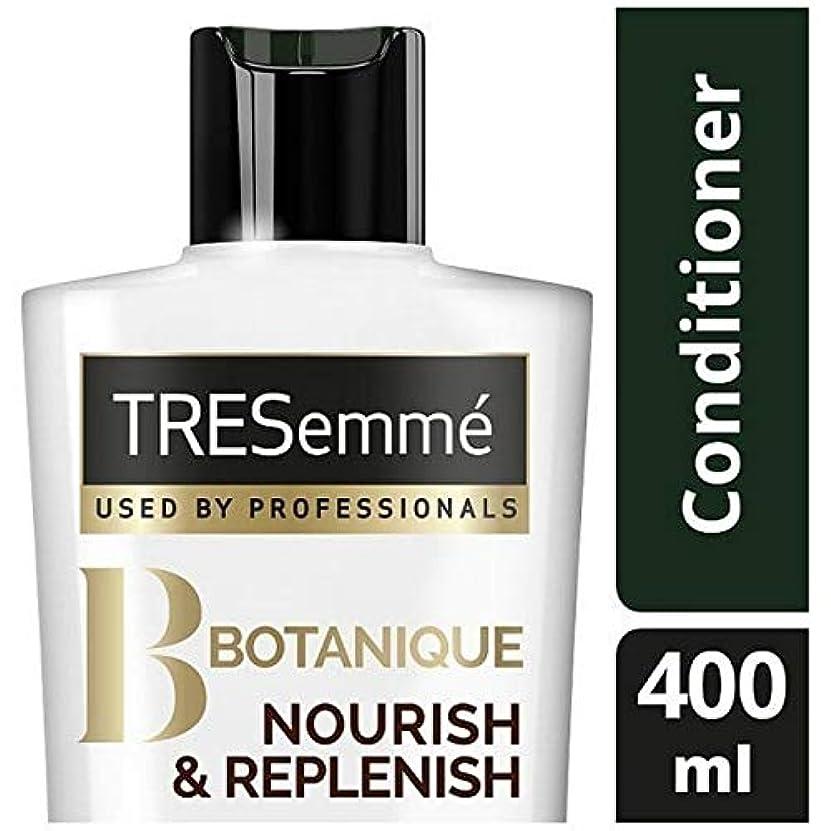 グラス甘い防止[Tresemme] Tresemmeのボタニックを養う&コンディショナー400ミリリットルを補充します - TRESemme Botanique Nourish & Replenish Conditioner 400ml...