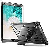 SUPCASE ipad pro 12.9 ケース 2017 耐衝撃 一体型 全面保護 ( iPad 12.9 ブラック)
