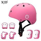 XJD 自転車 ヘルメット こども用 キッズプロテクターセット S