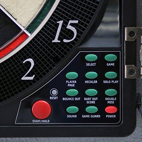 Best Selling最も人気ホームPlayroomバーAuthenticマルチプレーヤーProモデル電子bulls-eyeデジタルLED Dart board-フル点灯display- 38ゲーム200+ variations- 2のセットソフトチップ/スチールチップダーツ