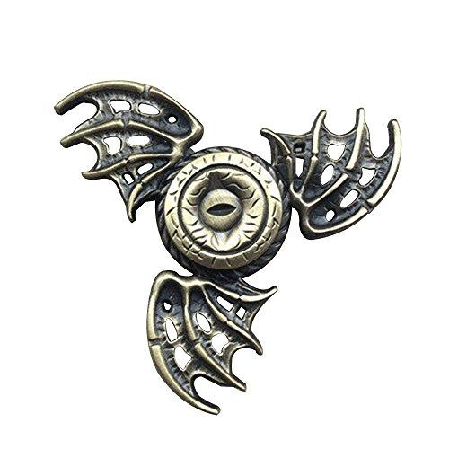 ドラゴン目 ハンドスピナー 指スピナー fidget spinner おもちゃ 高性能ベアリング 回転スムーズ