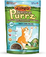 Zukes Natural Purrz Purrfectly Tasty Tuna Recipe Sublime Soft Treats for Cats 3z