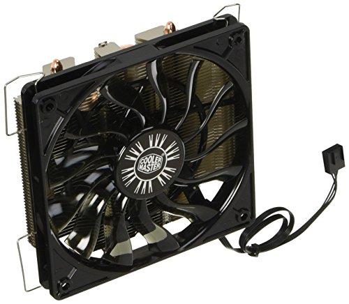 Cooler Master 風神スリム トップフローCPUク―ラー 120mm大型PWMファン搭載 Intel/AMD両対応 FN730 RR-GMM4-16PK-J1