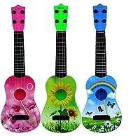 Linshop ベビー?ギター?ケリー?スチール弦のヴァイオリン音楽の長い43cmで特に楽器玩具ミニ遊び(ランダムカラー)