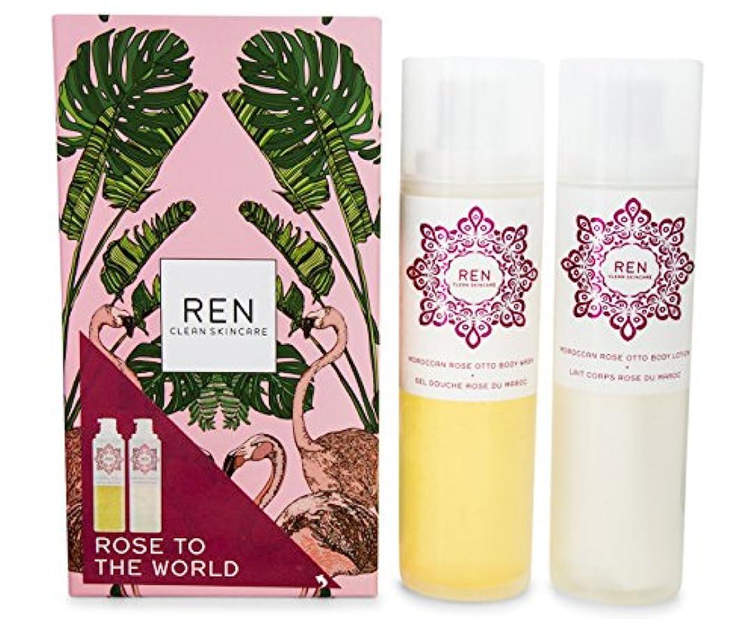 ライド詩人退院レン Morococann Rose Duo: Body Wash 200ml/6.8oz + Body Lotion 200ml/6.8oz 2pcs並行輸入品