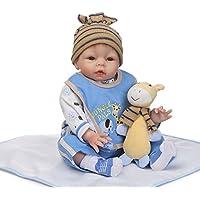Decdeal 55cm 赤ちゃん 人形 女の子 PP キリン かわいい贈り物 おもちゃ