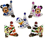 ディズニー ワゴンゲーム アブーズバザール ディズニー・クリスマス2017 ピンバッジ 全5種類 ※お土産袋とlリボンを付けたラッピング付き