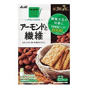 アサヒグループ食品 バランスアップ ブランのちからアーモンドと繊維 210g×4箱
