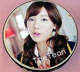 少女時代 テヨン 韓国製 CD DVD 収納ケース丸型 455TY