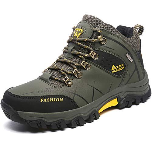 [RDGO] メンズ ハイキングシューズ トレッキングブーツ 登山靴 アウト...