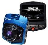 "TOGUARD 2.46"" LCD Full HD 1080P Dashcam Car Dvr Camera,Novatek NT96220,G-sensor,Parking Monitor,Motion Detection,Loop Recording,Night Vision [並行輸入品]"
