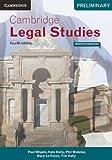 Cover of Cambridge Preliminary Legal Studies