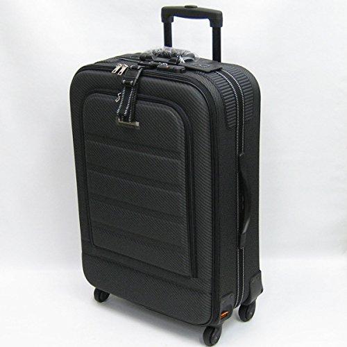 [エスケープ] ESCAPE'S ソフトキャリー YU1802TS 約79リットル (ブラック) 空港受託手荷物無料サイズ 3辺合計(約)152㎝