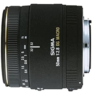 SIGMA 単焦点マクロレンズ MACRO 50mm F2.8 EX DG キヤノン用 フルサイズ対応