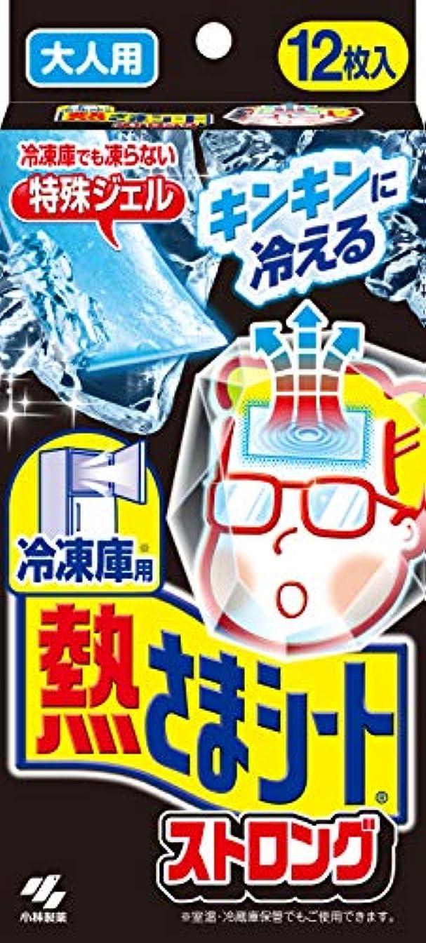 無秩序感情の毒液冷凍庫用 熱さまシート 冷却シート ストロング 大人用 12枚