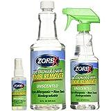 ZORBX Unscented Multipurpose Odor Remover Safe for All, Carpet, Hardwood, Tile, Fabric Odor Eliminator, No Perfumes or Fragra